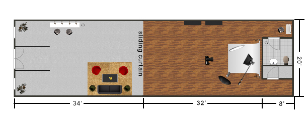 Studio Layout 2
